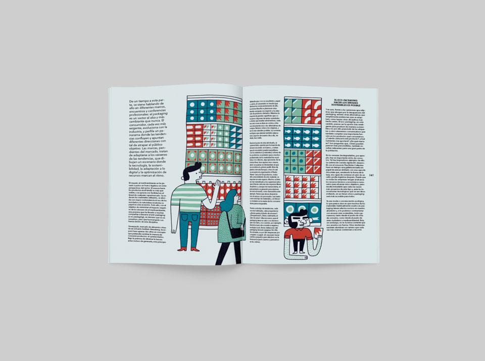 revista graffica 9 report supermercado personas
