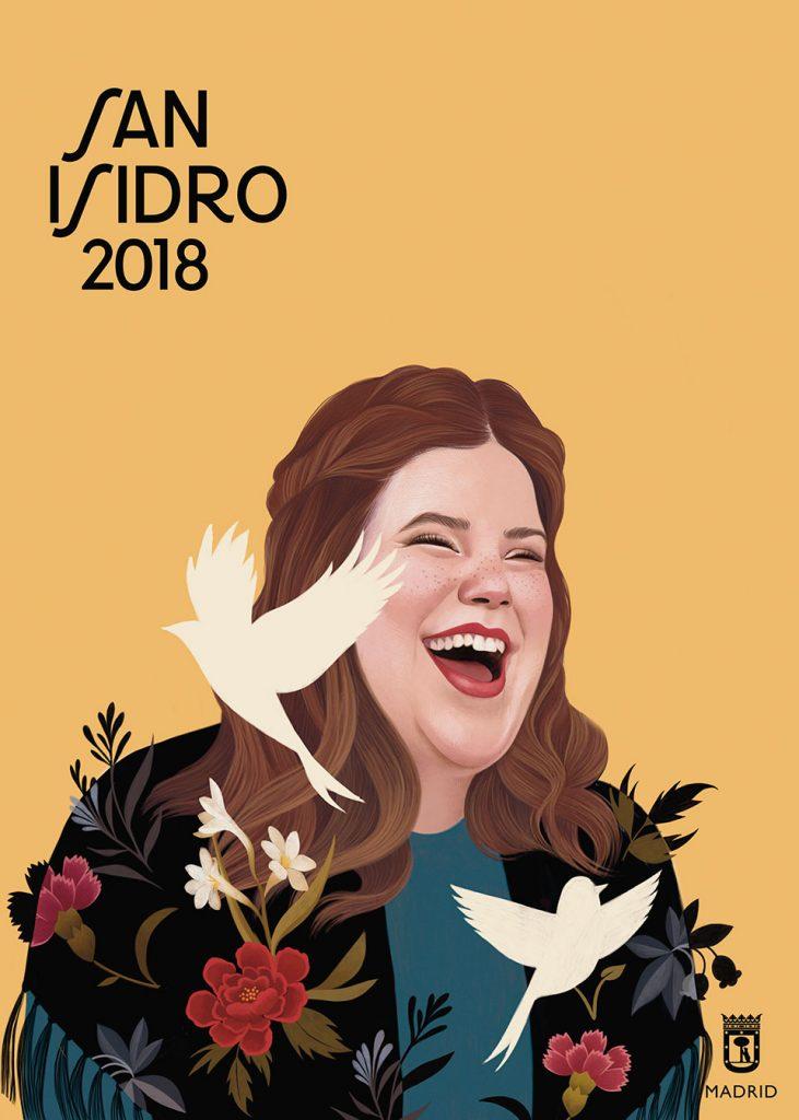 San Isidro 2018 chica pecas ocre