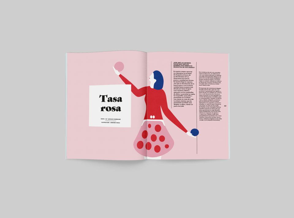 tasa rosa revista graffica 9 packaging mockup primero