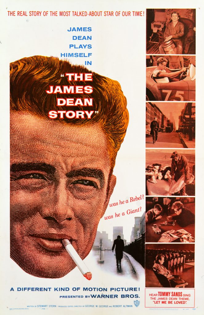 The James Dean Story portada de Bill Gold