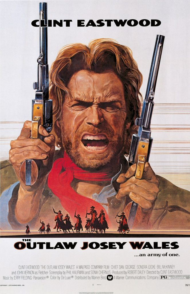 The Outlaw Josey Wales portada de Bill Gold