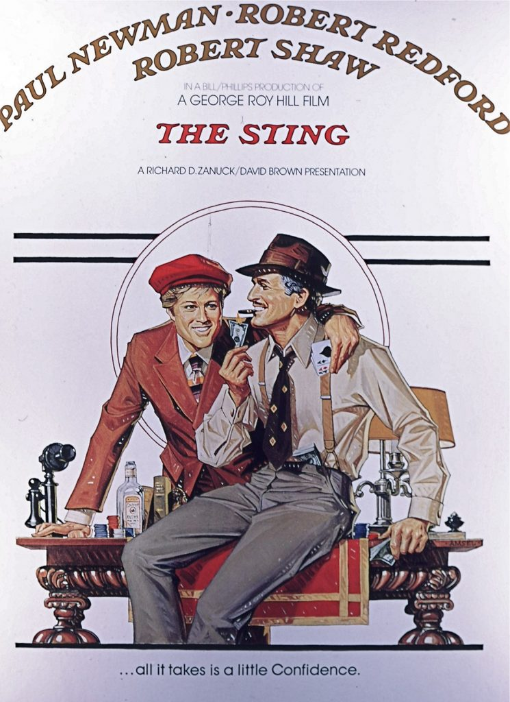 The Sting portada de Bill Gold