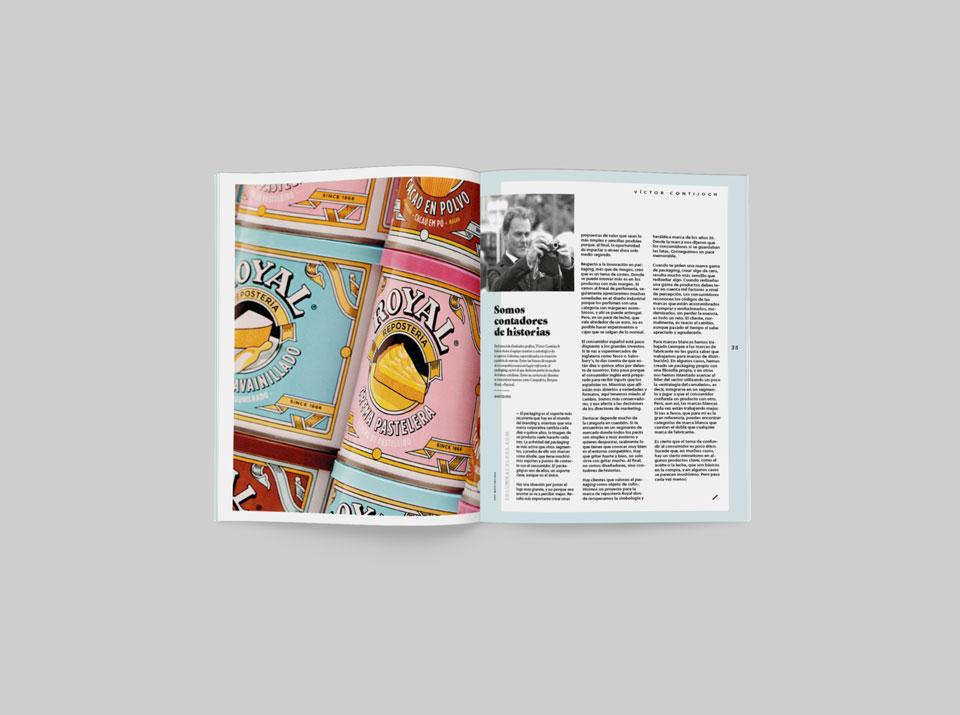 revista graffica 9 Victor Columna Mockup doble