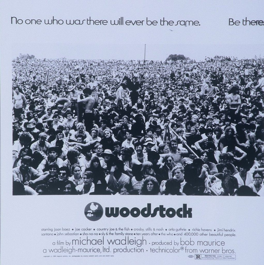 Woodstock portada de Bill Gold