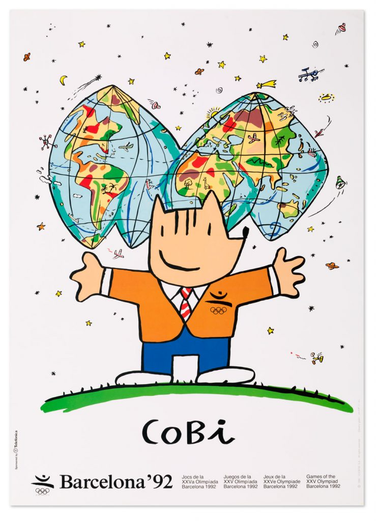 Cobi, la mascota de los Juegos Olímpicos de Barcelona 92'