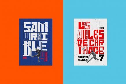 From Russia With Love: LoveGunn crea serie de pósteres tipográficos para cada equipo que juega en la Copa Mundial 2018