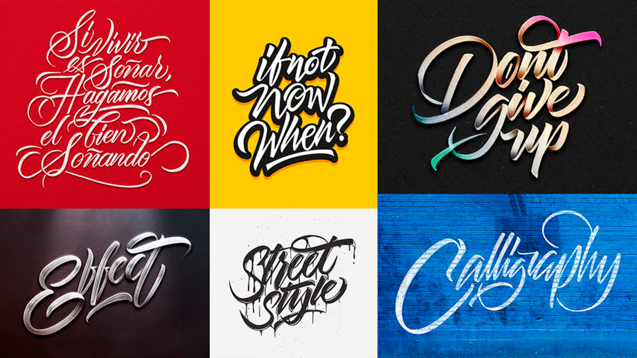 Lettering digital con Illustrator y Photoshop