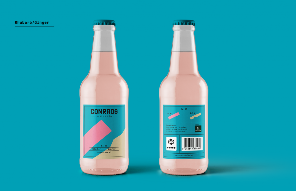 packaging de refresco conrads