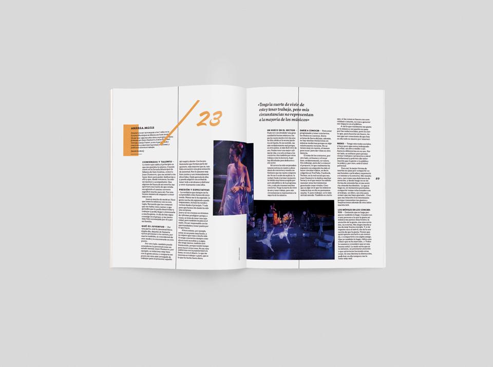 revista graffica 10 Andrea Motis mockup2 segundo
