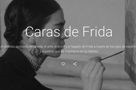 Google Arts & Culture presenta las Caras de Frida