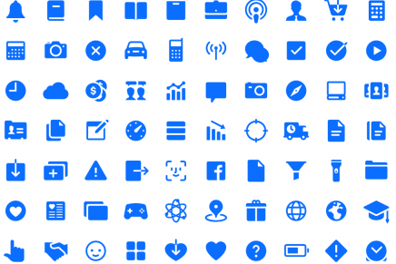 200 iconos gratuitos con estilo iOS de icons8