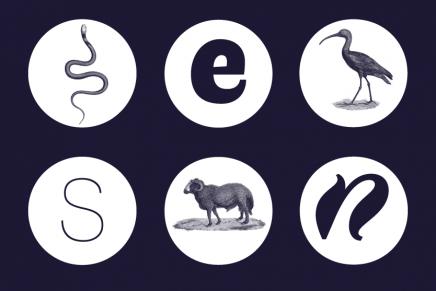 Faune, una tipografía gratuita inspirada en los animales