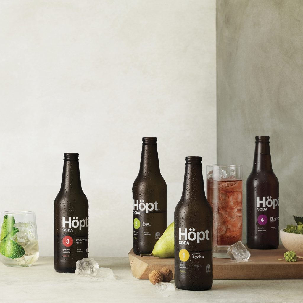 packaging de refresco hopt