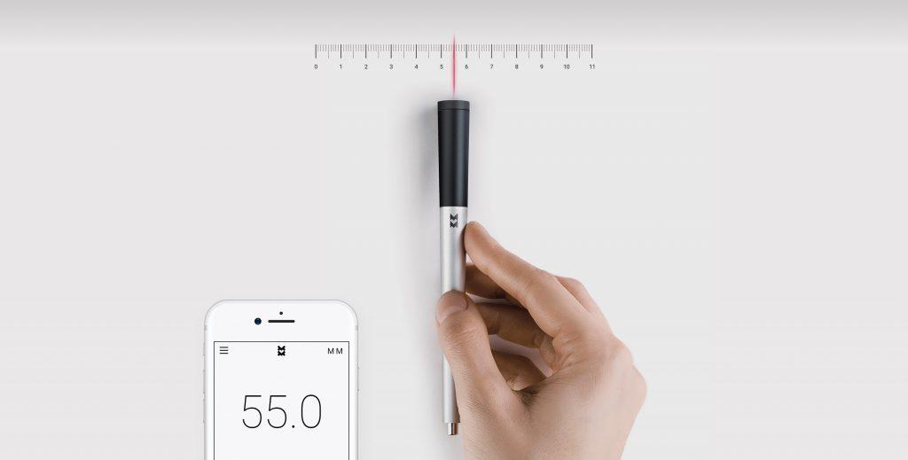 dibujar y medir al mismo tiempo