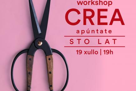 Workshop con la artista Gosia Trebacz en el  III Ladies, Wine & Design A Coruña