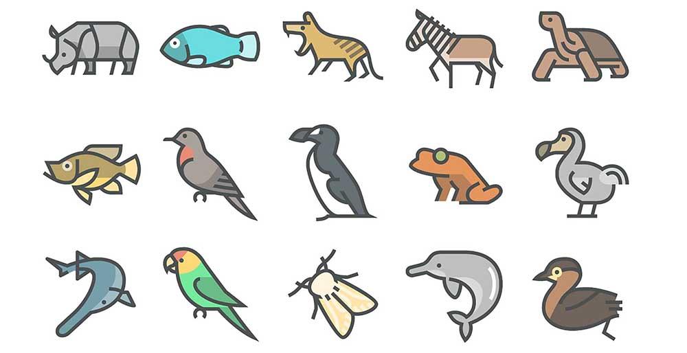 15 iconos que honran a los animales en peligro de extinción