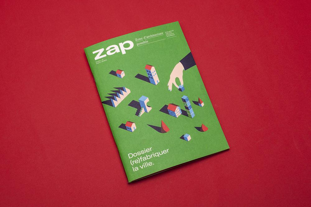 Un proyecto muy reciente, hecho en colaboración con Hugues François. Primer número de una nueva revista de la Escuela Nacional de Arquitectura de Estrasburgo.