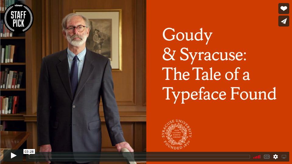 Goudy & Syracuse