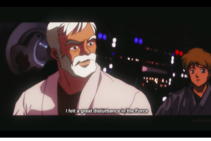 ¿Cómo sería Star Wars en versión anime japonés?