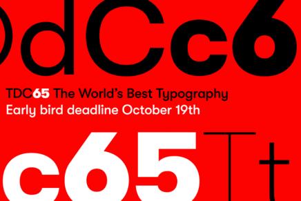 Type Directors Club abre la convocatoria de sus concursos anuales