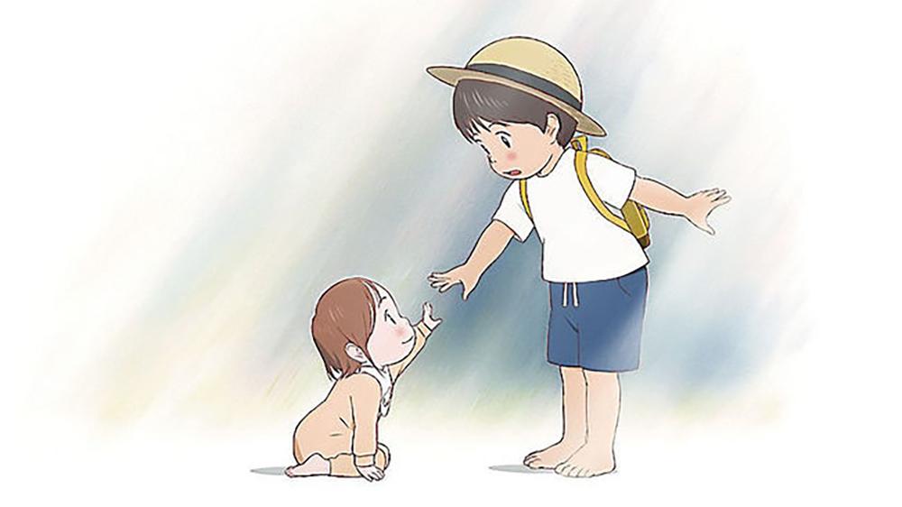 mamoru hosoda ilustracion mirai
