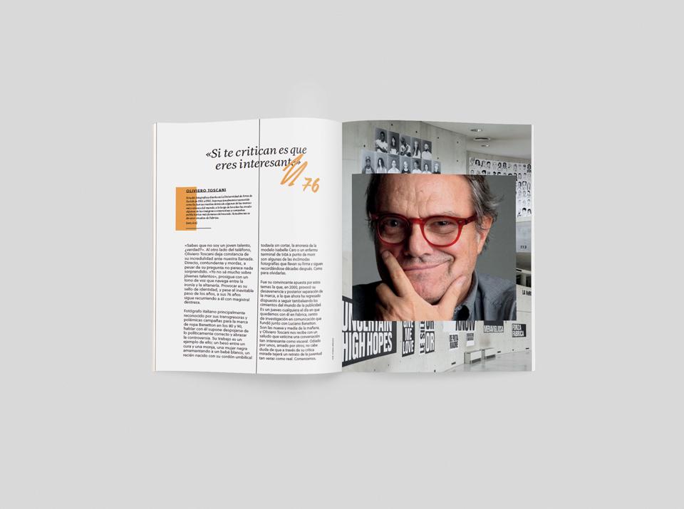 revista graffica 10 oliviero toscani mockup1 primero