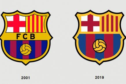7 diferencias entre el antes y después del rediseño del escudo del Barça