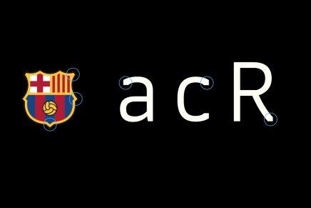 ¿Qué tiene de especial la nueva tipografía del Barça?