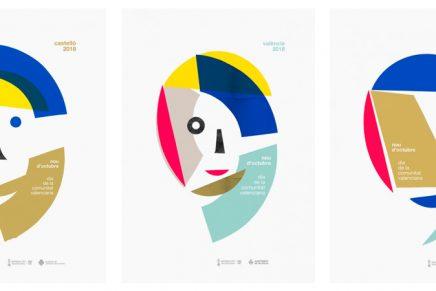 Así son los nuevos carteles del 9 d'Octubre para el día de la Comunitat Valenciana