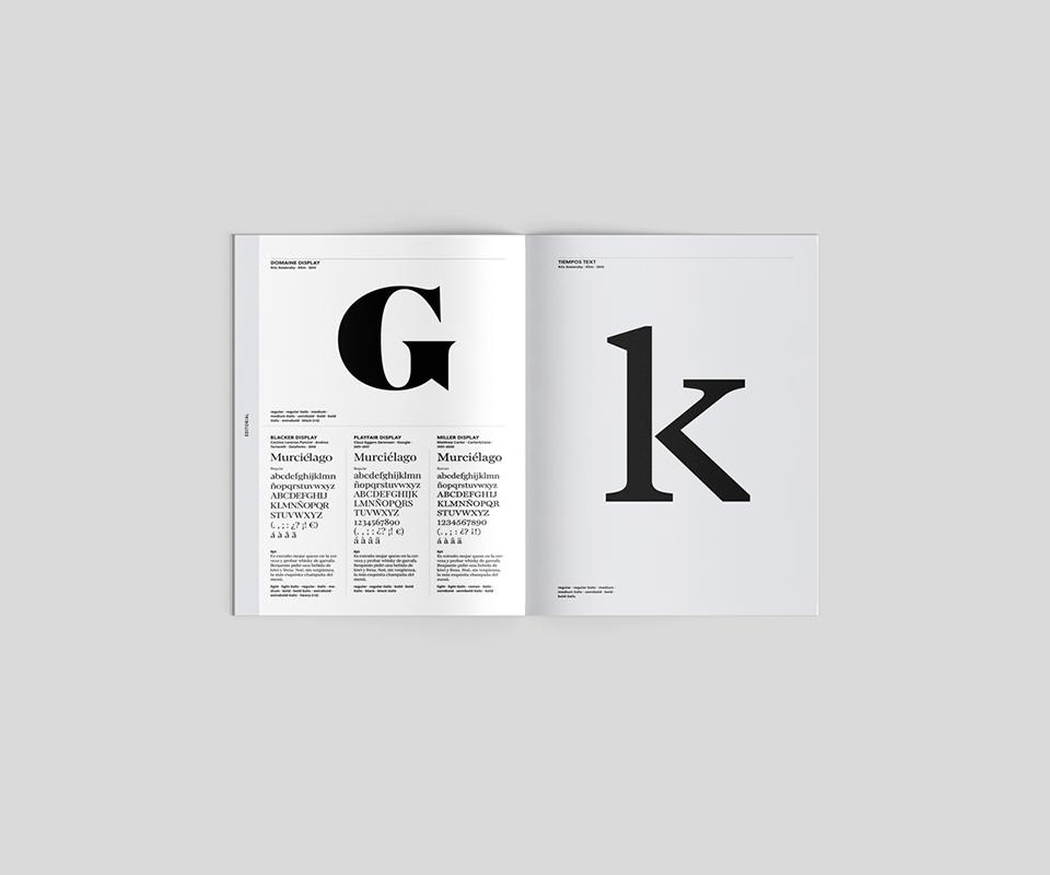 revista graffica 11 tipografia catalogo tipografico g k