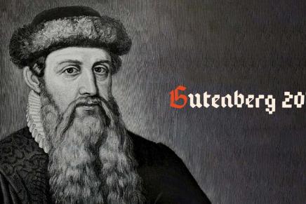Un octubre de letras en torno a un tipo de Maguncia