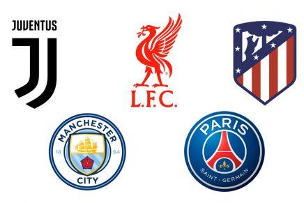 Otros 5 equipos que renovaron su marca antes que el Barça