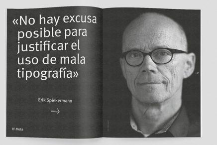 La tipografía es la gran protagonista del número 11 de la revista Gràffica