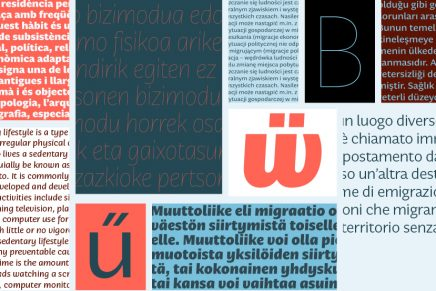 Tipografies presenta su nueva colección tipográfica: Nomada
