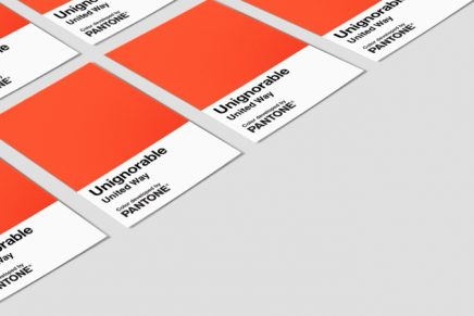 Pantone y la ONG United Way lanzan un color para visibilizar problemas sociales y mentales