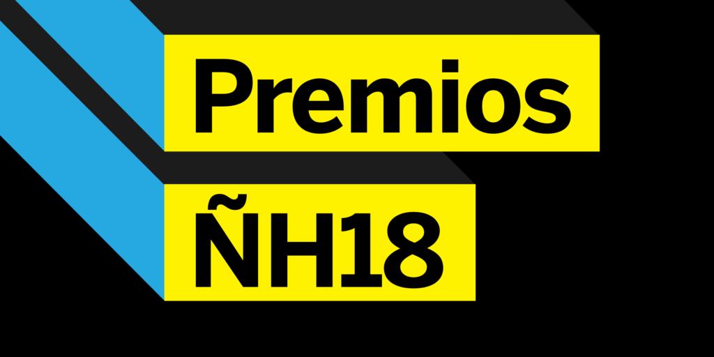 los ganadores de los premios nh2018 nombre