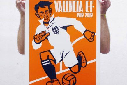 Lawerta: una síntesis visual para el centenario del Valencia CF