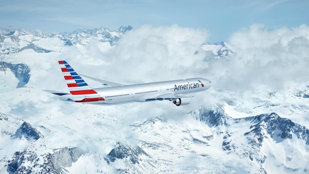 american airlines avion