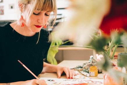 María Hesse: tinta y sensibilidad