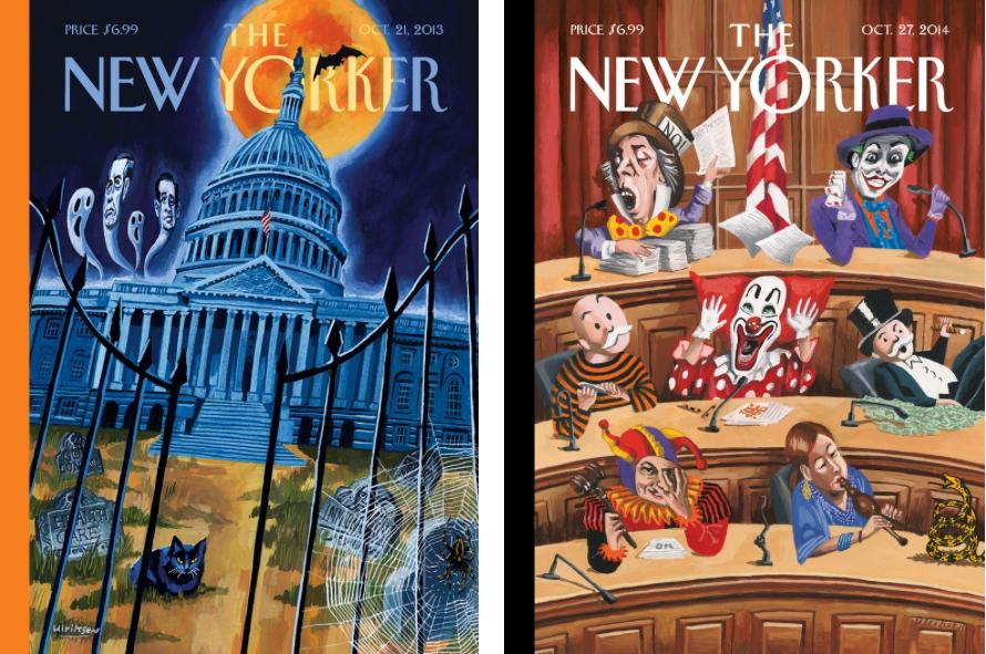 trump portadas the new yorker
