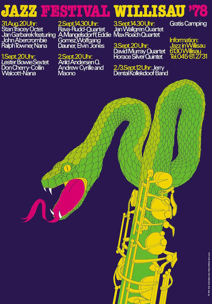 Niklaus Troxler jazz festival