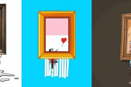 Las consecuencias de la última acción de Banksy en forma de memes y publicidad