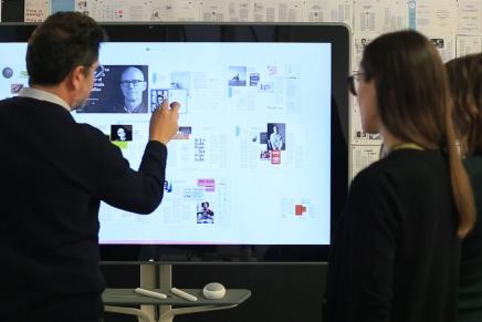 Probamos la Jamboard, el nuevo dispositivo de Google (y BenQ) pensado para equipos de trabajo y meetings digitales