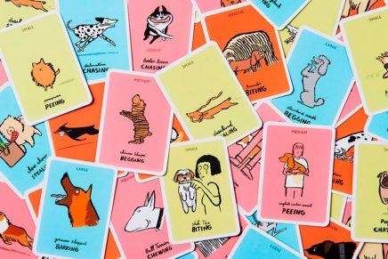 'Dodgy dogs', un juego de cartas con humor canino