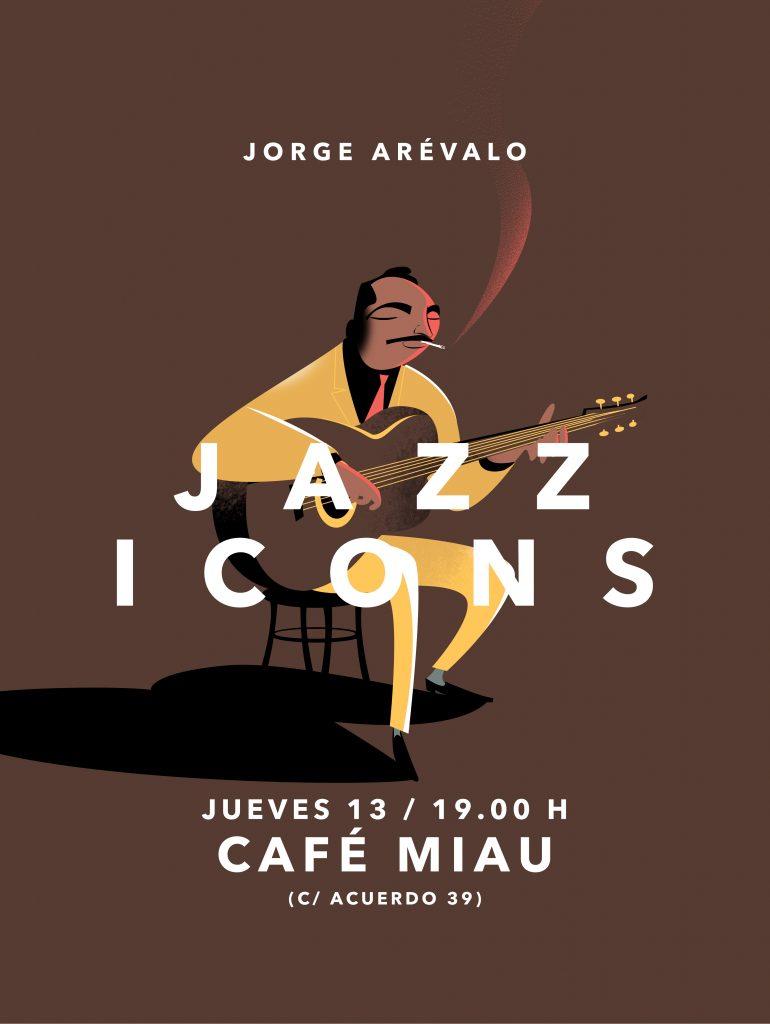 Jorge Arévalo cartel jazz