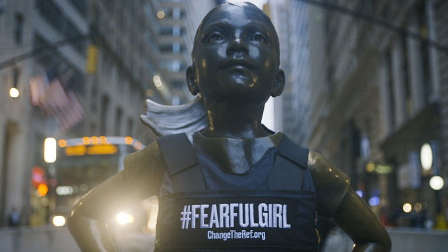 fearless girl estatua