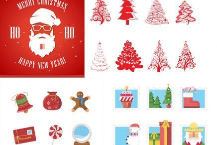 Iconos navideños gratuitos para diseñar esta Navidad
