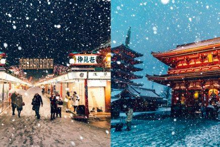 Preciosas fotos invernales de Tokio, por Yuichi Yokota
