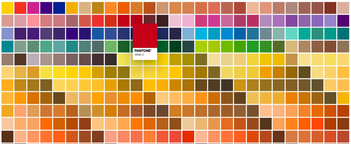Color Finder, la herramienta gratuita de Pantone para creativos visuales