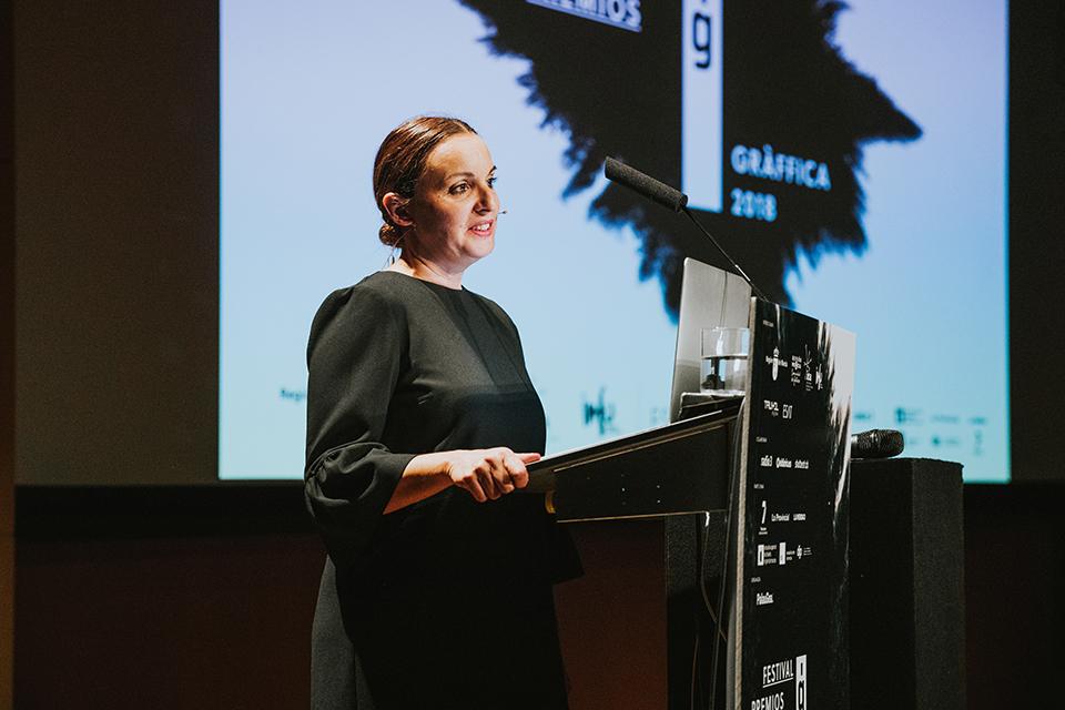 premios graffica 2018 Ana Gea directora